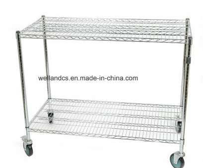 chrome wire shelf trolleys Heavy Duty Factory Warehouse Storage Rack Chrome Steel Wire Shelving Trolley Cart Chrome Wire Shelf Trolleys Brilliant Heavy Duty Factory Warehouse Storage Rack Chrome Steel Wire Shelving Trolley Cart Pictures