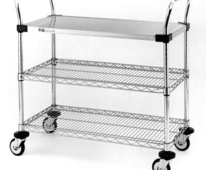 chrome wire shelf trolleys Metro MW400 Series, Utility Carts, Stainless steel shelving, Chrome Chrome Wire Shelf Trolleys Cleaver Metro MW400 Series, Utility Carts, Stainless Steel Shelving, Chrome Collections
