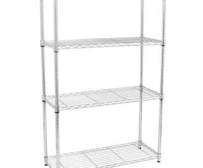 chrome wire shelving for bathroom 4/5 Tier Storage Rack Organizer Kitchen Shelving Steel Wire Shelves Black/ Chrome Chrome Wire Shelving, Bathroom Perfect 4/5 Tier Storage Rack Organizer Kitchen Shelving Steel Wire Shelves Black/ Chrome Galleries