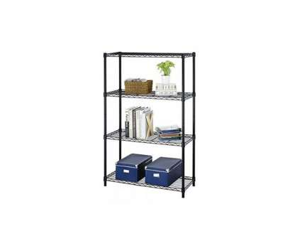 chrome wire shelving bjs BestOffice 54″ Steel Wire 4-Tier Metal Shelving Rack (Black or Chrome), $24.99 at Rakuten, The Best Deals Club Chrome Wire Shelving Bjs Creative BestOffice 54″ Steel Wire 4-Tier Metal Shelving Rack (Black Or Chrome), $24.99 At Rakuten, The Best Deals Club Collections