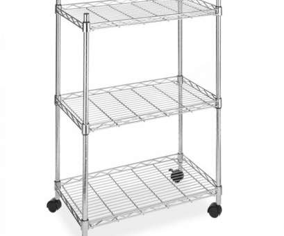 chrome wire shelving casters NEW CHROME WIRE Shelving Cart Unit 3 Shelves w/Casters Shelf Rack 9 Creative Chrome Wire Shelving Casters Collections