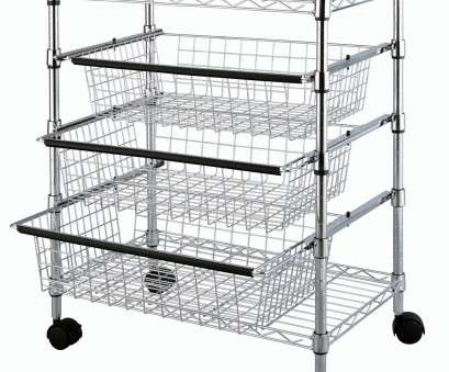 18 Popular Chrome Wire Shelving Drawers Images