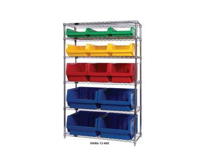 chrome wire shelving drawers Chrome Wire Shelving Units With Magnum Bins Chrome Wire Shelving Drawers Perfect Chrome Wire Shelving Units With Magnum Bins Collections