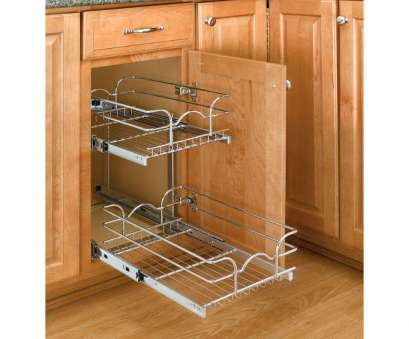 chrome wire shelving drawers Rev-A-Shelf 19, H x 8.75, W x 18, D 9, Base Cabinet Pull-Out Chrome 2-Tier Wire Basket Chrome Wire Shelving Drawers Perfect Rev-A-Shelf 19, H X 8.75, W X 18, D 9, Base Cabinet Pull-Out Chrome 2-Tier Wire Basket Photos