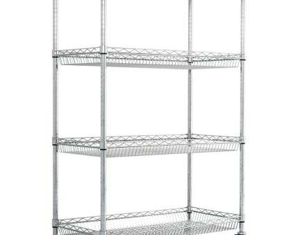 chrome wire shelving ireland 4 Level Chrome Wire Trolley with Basket Shelves Chrome Wire Shelving Ireland Popular 4 Level Chrome Wire Trolley With Basket Shelves Ideas