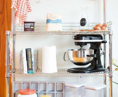 chrome wire shelving kitchen chrome wire bakers rack displayed in a kitchen holding cook books kitchen, measuring cups utensils Chrome Wire Shelving Kitchen Most Chrome Wire Bakers Rack Displayed In A Kitchen Holding Cook Books Kitchen, Measuring Cups Utensils Photos