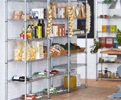 chrome wire shelving kitchen Drakes Display Large 180cm x 90cm x 45cm Chrome Wire Shelving with 6 Shelves/Tiers, Strong Steel/High Quality, Ideal Storage, Kitchen, Office Chrome Wire Shelving Kitchen Creative Drakes Display Large 180Cm X 90Cm X 45Cm Chrome Wire Shelving With 6 Shelves/Tiers, Strong Steel/High Quality, Ideal Storage, Kitchen, Office Pictures