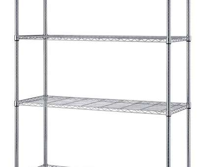 chrome wire shelving s-hooks Amazon.com: Quantum Storage Systems RWR72-1830LD 4-Tier Wire Shelving Unit, Chrome Finish,, lb., Shelf Capacity,, Height x, Width x, Depth: Chrome Wire Shelving S-Hooks Best Amazon.Com: Quantum Storage Systems RWR72-1830LD 4-Tier Wire Shelving Unit, Chrome Finish,, Lb., Shelf Capacity,, Height X, Width X, Depth: Solutions