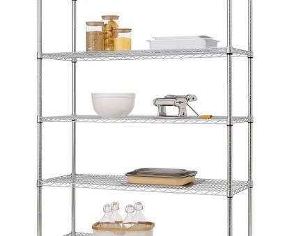 chrome wire shelving s-hooks Amazon.com: Trinity EcoStorage 5-Tier, Wire Shelving Rack, 48 by 18 by 72-Inch, Chrome: Kitchen & Dining Chrome Wire Shelving S-Hooks Fantastic Amazon.Com: Trinity EcoStorage 5-Tier, Wire Shelving Rack, 48 By 18 By 72-Inch, Chrome: Kitchen & Dining Ideas