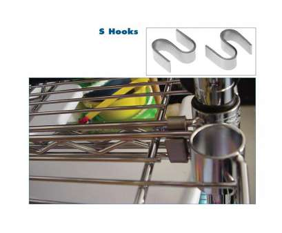 chrome wire shelving s-hooks CHROME WIRE SHELVING ACCESSORIES Chrome Wire Shelving S-Hooks Cleaver CHROME WIRE SHELVING ACCESSORIES Galleries