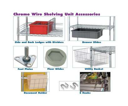 chrome wire shelving s-hooks Chrome Wire Shelving Unit Accessories Chrome Wire Shelving S-Hooks New Chrome Wire Shelving Unit Accessories Solutions