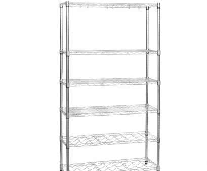 chrome wire shelving s-hooks Chrome Wire Shelving Unit, Kitchens, Shelves, 2 Wine Racks, 'S' Hooks Chrome Wire Shelving S-Hooks Perfect Chrome Wire Shelving Unit, Kitchens, Shelves, 2 Wine Racks, 'S' Hooks Ideas