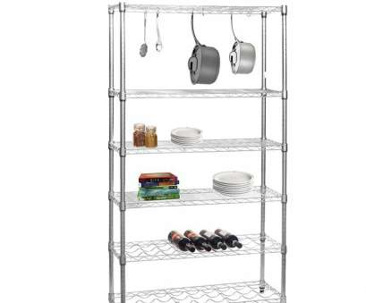 chrome wire shelving s-hooks Chrome Wire Shelving Unit, Kitchens, Shelves, 2 Wine Racks, 'S' Hooks Chrome Wire Shelving S-Hooks Fantastic Chrome Wire Shelving Unit, Kitchens, Shelves, 2 Wine Racks, 'S' Hooks Pictures