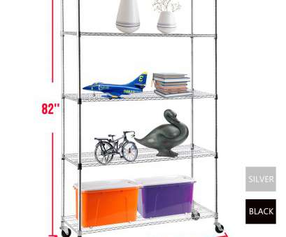 chrome wire shelving south africa Details about 5 Tier 82