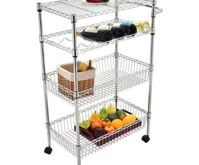 chrome wire shelving trolley Amazon.com: 4 Tier Wire Rolling Metal Kitchen Trolley Shelf Organizer Serving Cart: Kitchen & Dining Chrome Wire Shelving Trolley New Amazon.Com: 4 Tier Wire Rolling Metal Kitchen Trolley Shelf Organizer Serving Cart: Kitchen & Dining Ideas