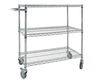 chrome wire shelving trolley Chrome Wire Trolley With Handle Chrome Wire Shelving Trolley Fantastic Chrome Wire Trolley With Handle Photos