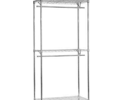 Chrome Wire Shelving Wholesalers Australia Nice 2 Tier Chrome Wire Shelving With 2 Clothes Rails, 3 Shelves, 900Mm (3Ft) Wide: Amazon.Co.Uk: Kitchen & Home Images