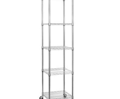 Chrome Wire Shelving Wholesalers Australia Top Shopfitting Warehouse Chrome Wire Shelving Unit Wheels, Shelves, H1875 X W450 X D450, Amazon.Co.Uk: Kitchen & Home Galleries