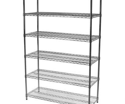 chrome wire shelving with wheels Amazon.com: 14