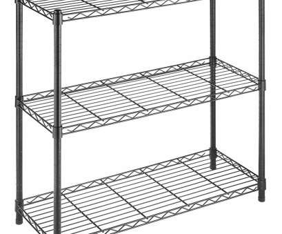 chrome wire shelving with wheels Amazon.com: Whitmor Supreme 3 Tier Shelving with Adjustable Shelves, Leveling Feet, Black: Home & Kitchen Chrome Wire Shelving With Wheels Practical Amazon.Com: Whitmor Supreme 3 Tier Shelving With Adjustable Shelves, Leveling Feet, Black: Home & Kitchen Photos
