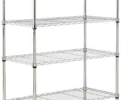 chrome wire shelving with wheels AmazonBasics 5-Shelf Shelving Unit on Wheels, Chrome, Wire Chrome Wire Shelving With Wheels New AmazonBasics 5-Shelf Shelving Unit On Wheels, Chrome, Wire Images