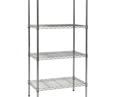 chrome wire shelving with wheels Apollo Hardware Chrome 4-shelf Wire Shelving With Wheels 14, X48 Chrome Wire Shelving With Wheels Best Apollo Hardware Chrome 4-Shelf Wire Shelving With Wheels 14, X48 Pictures