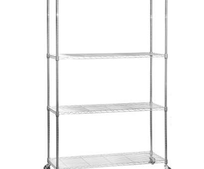 chrome wire shelving with wheels Chrome Wire Shelving Unit with Heavy-Duty Wheels, Shelves Chrome Wire Shelving With Wheels Popular Chrome Wire Shelving Unit With Heavy-Duty Wheels, Shelves Galleries