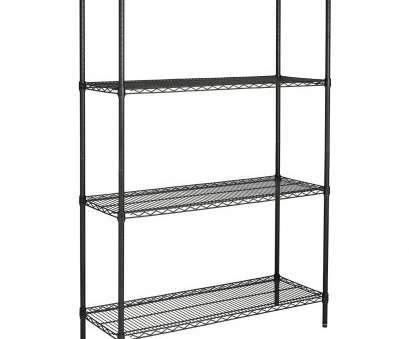 chrome wire shelving with wheels Hyper Tough 4-Shelf Commercial Grade Wire Shelving System with Bonus Shelf Liners, Casters, Black, Walmart.com Chrome Wire Shelving With Wheels Brilliant Hyper Tough 4-Shelf Commercial Grade Wire Shelving System With Bonus Shelf Liners, Casters, Black, Walmart.Com Collections