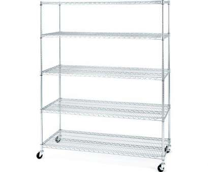 chrome wire shelving with wheels Seville Classics 72, H x 60, W x 24, D 5-Shelves Steel Chrome Wire Shelving With Wheels Popular Seville Classics 72, H X 60, W X 24, D 5-Shelves Steel Galleries