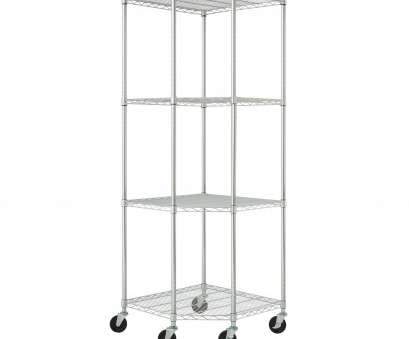 chrome wire shelving with wheels Shop TRINITY EcoStorage 4-tier Chrome Wire Wheeled Corner Shelving Rack, Free Shipping Today, Overstock.com, 6677425 Chrome Wire Shelving With Wheels New Shop TRINITY EcoStorage 4-Tier Chrome Wire Wheeled Corner Shelving Rack, Free Shipping Today, Overstock.Com, 6677425 Pictures