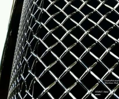 chrome woven wire mesh GMC Yukon / Denali / XL /, /, (2015, Upper Main Grille STOUT Style Weave Chrome Woven Wire Mesh New GMC Yukon / Denali / XL /, /, (2015, Upper Main Grille STOUT Style Weave Solutions