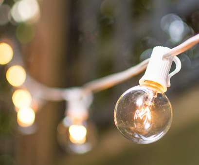 10 Brilliant Clear Globe String Lights White Wire Photos