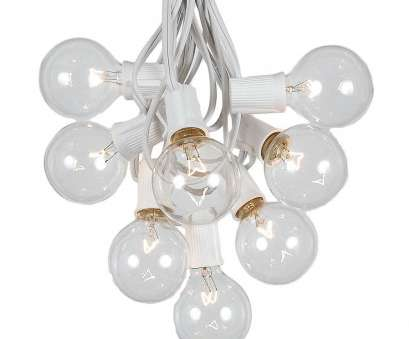 clear globe string lights white wire Picture of, G50 Globe Light String, with Clear Bulbs on White Wire Clear Globe String Lights White Wire Top Picture Of, G50 Globe Light String, With Clear Bulbs On White Wire Photos
