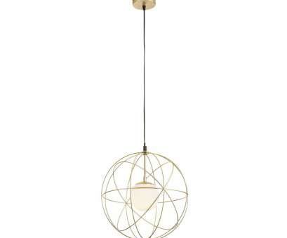 17 Creative Collection Ceres Wire Sphere Pendant Light, Gold Pictures