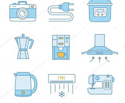 color of live wire in electric Household appliance color icons set. Photo camera, wire plug, multi cooker, coffee maker, range hood, electric kettle, coffee machine,, conditioner Color Of Live Wire In Electric Creative Household Appliance Color Icons Set. Photo Camera, Wire Plug, Multi Cooker, Coffee Maker, Range Hood, Electric Kettle, Coffee Machine,, Conditioner Photos