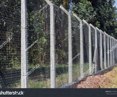 concrete wire mesh fence Wire mesh fence with concrete post to protect planting eucalyptus 17 New Concrete Wire Mesh Fence Collections