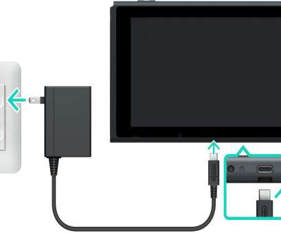 connect to a switch via console Connect, USB plug from, Nintendo Switch AC adapter into, USB connector on, bottom of, console, then connect, AC adapter into, wall Connect To A Switch, Console Perfect Connect, USB Plug From, Nintendo Switch AC Adapter Into, USB Connector On, Bottom Of, Console, Then Connect, AC Adapter Into, Wall Photos
