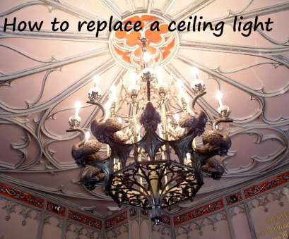 connecting a light fixture wiring How to Replace a Ceiling Light Fixture, Dengarden Connecting A Light Fixture Wiring New How To Replace A Ceiling Light Fixture, Dengarden Galleries