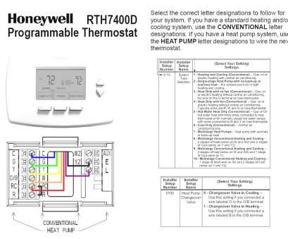 conventional thermostat wiring diagram honeywell goodman heat pump thermostat wiring diagram simple, rh releaseganji net 20 Brilliant Conventional Thermostat Wiring Diagram Collections