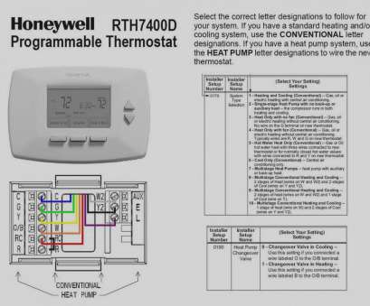 Conventional Thermostat Wiring Diagram Perfect 6 Wire ... on
