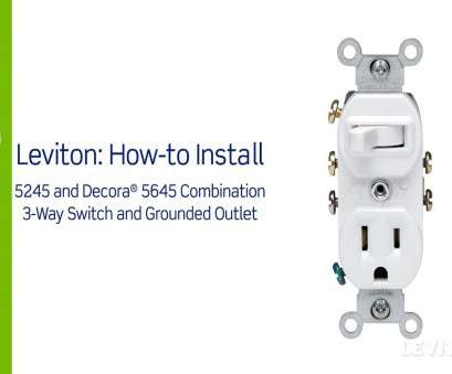 cooper wiring devices single pole switch and grounding receptacle ... Leviton Presents, To Install A Combination Device With Three At 3, Switch Outlet Wiring Cooper Wiring Devices Single Pole Switch, Grounding Receptacle Brilliant ... Leviton Presents, To Install A Combination Device With Three At 3, Switch Outlet Wiring Collections