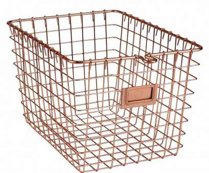 copper wire basket shelves Metal Basket, Copper Finish Image. Click, image to view in high resolution Copper Wire Basket Shelves Perfect Metal Basket, Copper Finish Image. Click, Image To View In High Resolution Pictures