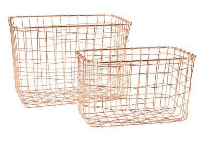 10 Creative Copper Wire Mesh Baskets Ideas
