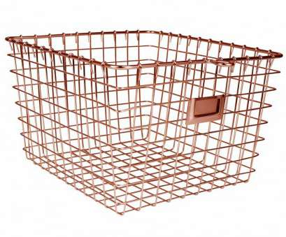 copper wire mesh baskets Metal Basket, Copper Finish Image Copper Wire Mesh Baskets Popular Metal Basket, Copper Finish Image Solutions