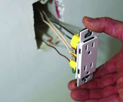 Copper Wires Electrical Outlet Practical Wiring Receptacles, Switches,, Online, Electrical, Electrical Codes, Wiring, Cable Photos