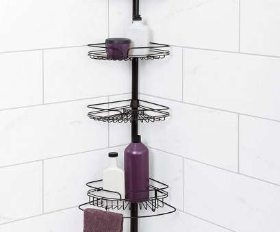 corner wire shower shelf Amazon.com: Zenna Home 2132HB, Tension Corner Pole Caddy,, Rubbed Bronze: Home & Kitchen 10 Cleaver Corner Wire Shower Shelf Ideas