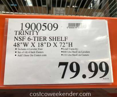 costco wire shelves Deal, the Trinity, 6-Tier Wire Shelving Rack at Costco Costco Wire Shelves New Deal, The Trinity, 6-Tier Wire Shelving Rack At Costco Photos