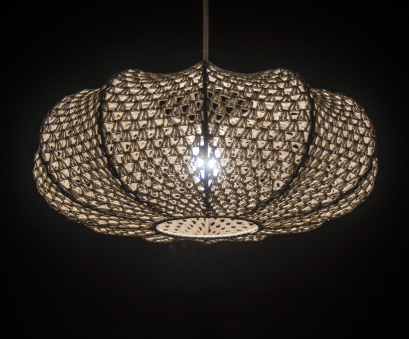 crochet wire pendant light Ellipse Crochet Pendant Lamp (Big), BunaStudio Crochet Wire Pendant Light Creative Ellipse Crochet Pendant Lamp (Big), BunaStudio Ideas