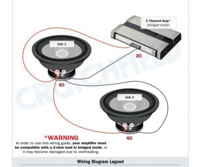 Crutchfield 4 Channel Wiring Diagram Cleaver Subwoofer Wiring