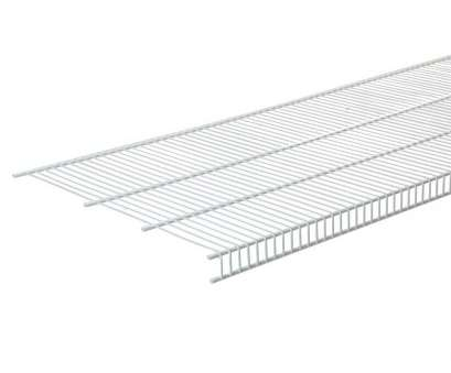 cutting white wire shelving CLOSETMAID SuperSlide 72, W x 12, D White Ventilated Wire Cutting White Wire Shelving Simple CLOSETMAID SuperSlide 72, W X 12, D White Ventilated Wire Solutions